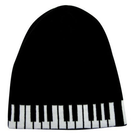 Knit Keyboard Winter Beanie Hat