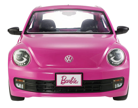 Barbie - New Beetle (Barbie Auto met Pop)