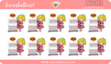 Sticker Sheet - Mimi Planner Stickers