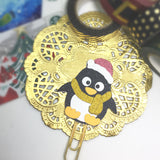 XMas Penguin Glittered Paper Clip LIMITED EDITION