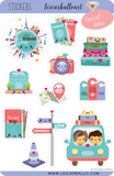 Sticker Sheet Set - Travel Time