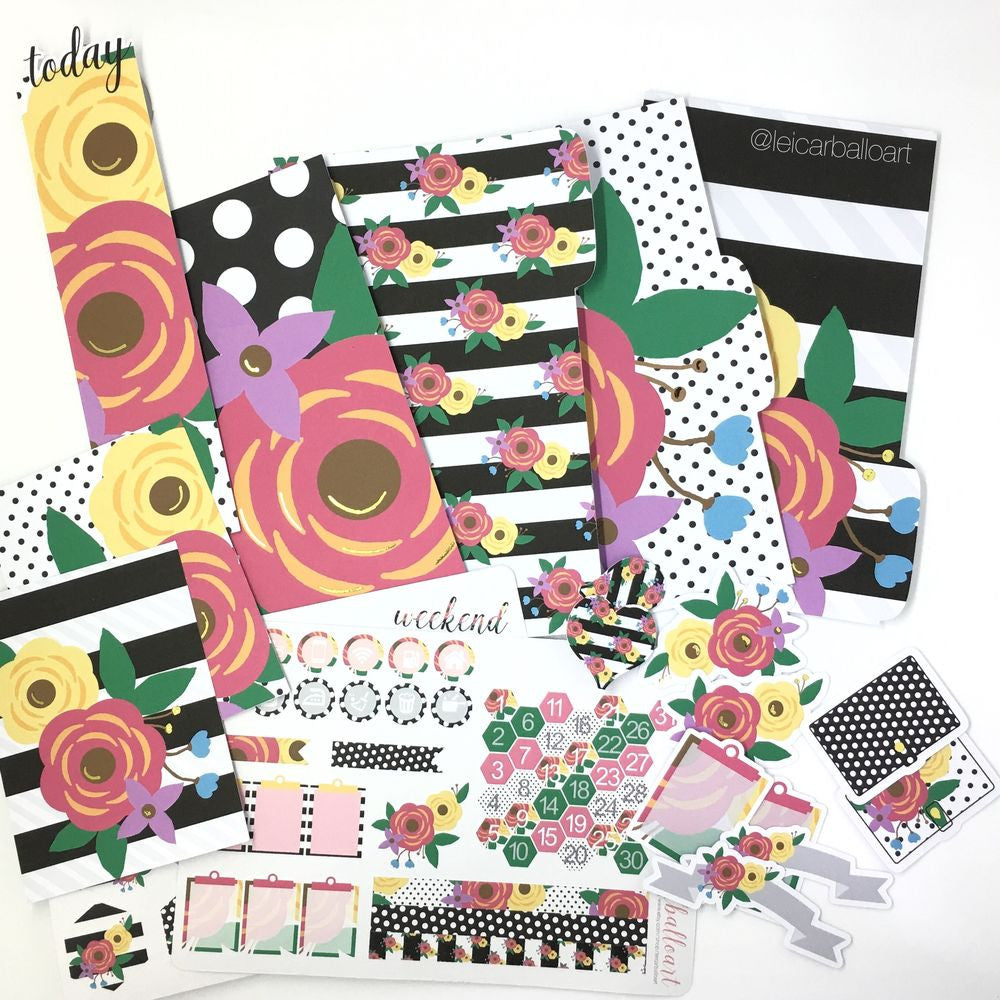 Pretty Planner Kit - 2016 July