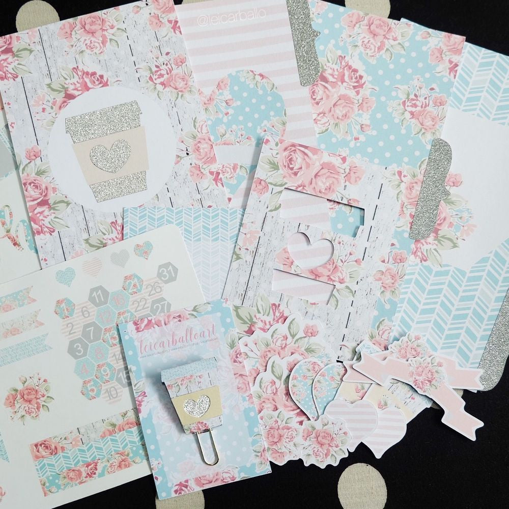 Pretty Planner Kit - 2016 April