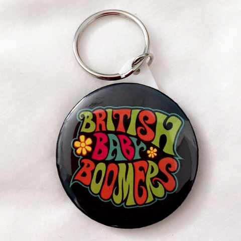Baby Boomers Official Keyring - 45mm
