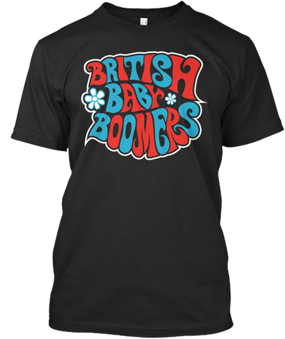 Baby Boomers Official Red/Blue T-Shirt
