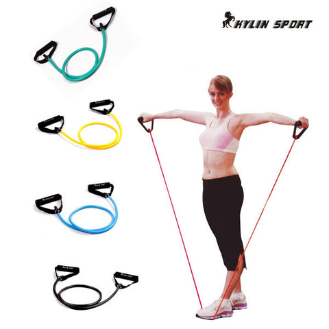 Fitness Gear - Elastic Crossfit Bands With Foam Handles