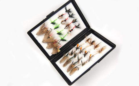Fly - 32 Flies & A Fly Box - For About $1 Apiece!