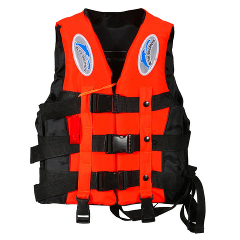 Multiple Water Sports Polyester Adult Life Jacket With Whistle
