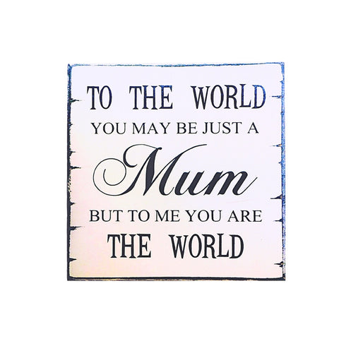 Mothers Day Birthday Plaque