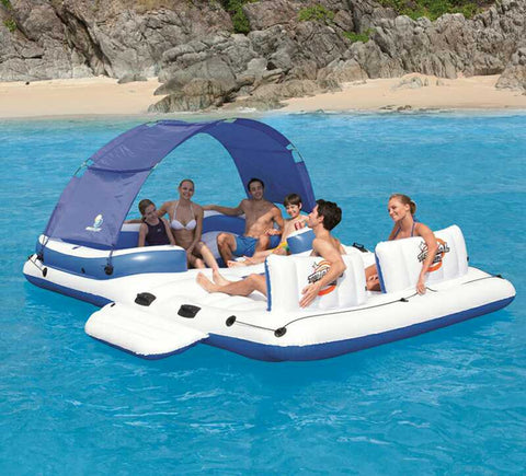 6-8 Person Inflatable Floating Relaxation Center