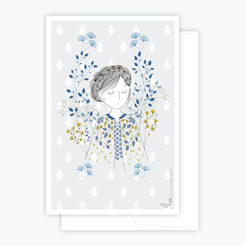 Dreamy Lady Card