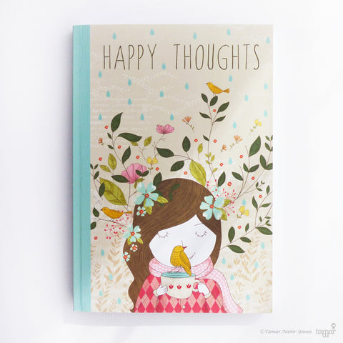 Happy Thoughts - מחברת ספר
