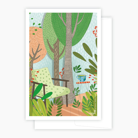 Tea Forest Card
