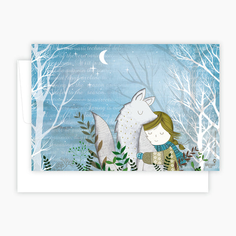 Winter Fox Card