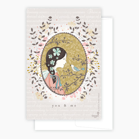 You & Me Card