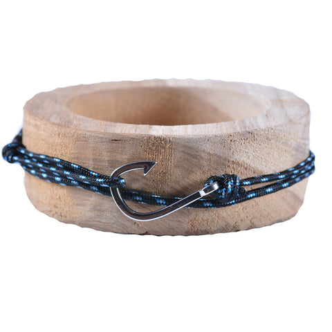 Dark Blue Hook Bracelet