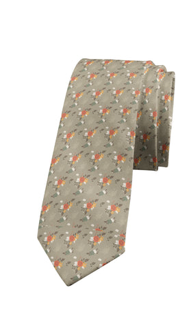Algeciras - Slim Cotton Tie