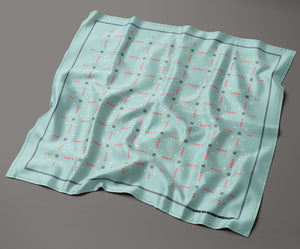 Argenta - Silk Pocket Square