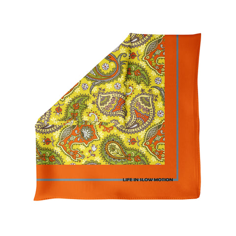 Avellino- Silk Pocket Square