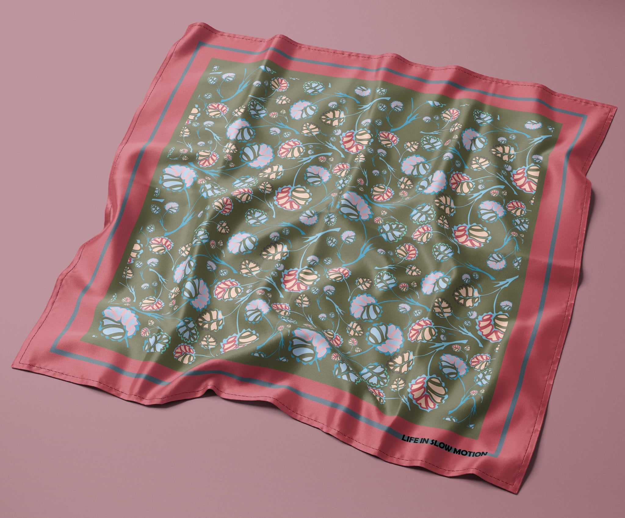 Bologna - Silk Pocket Square