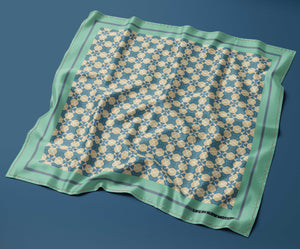 Bordighera - Silk Pocket Square