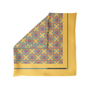 Calabria - Silk Pocket Square