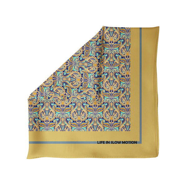 Civitavecchia - Silk Pocket Square