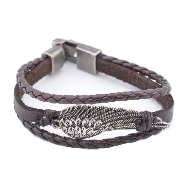 Brown Metal Bracelet