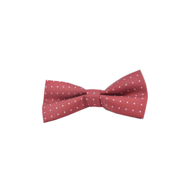 Red Patterns Bow Tie