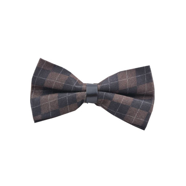 Chequered Bow Tie