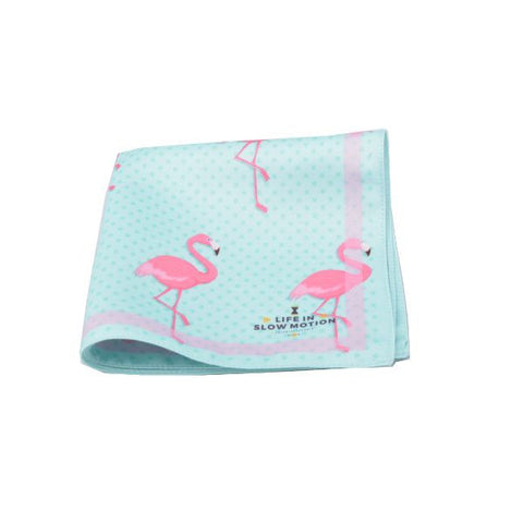 Flamingo Pocket Square