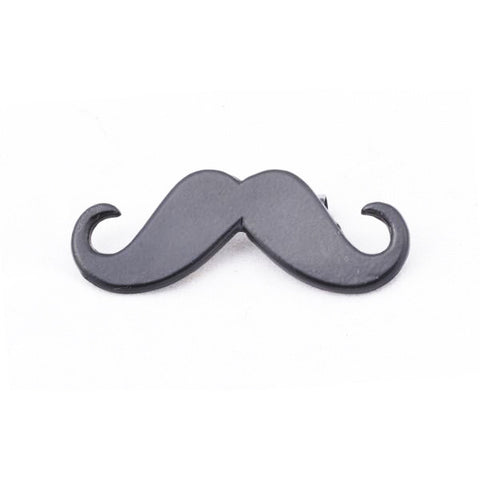 Black Moustache Brooch Life In Slow Motion