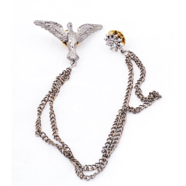 Eagle Chain Brooch