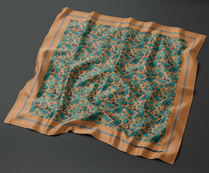 Genoa - Silk Pocket Square