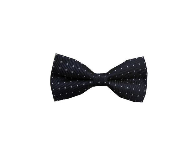 Blue Patterns Bow Tie