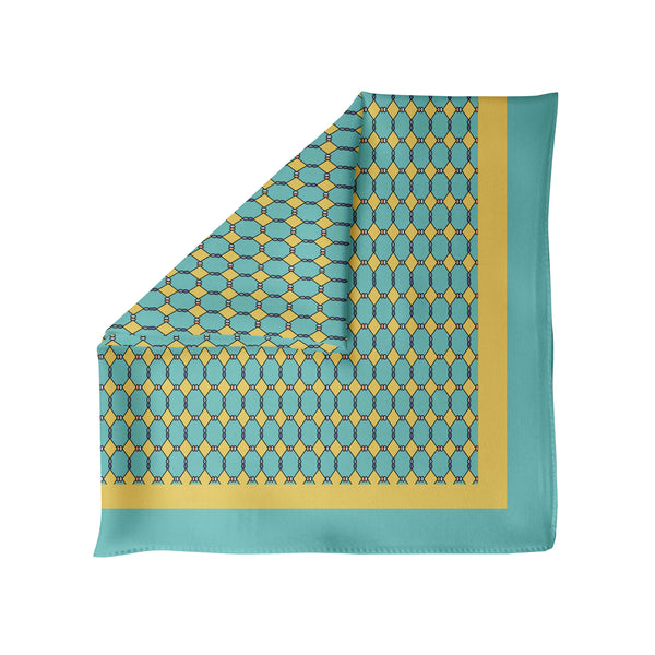 Abruzzi - Silk Pocket Square