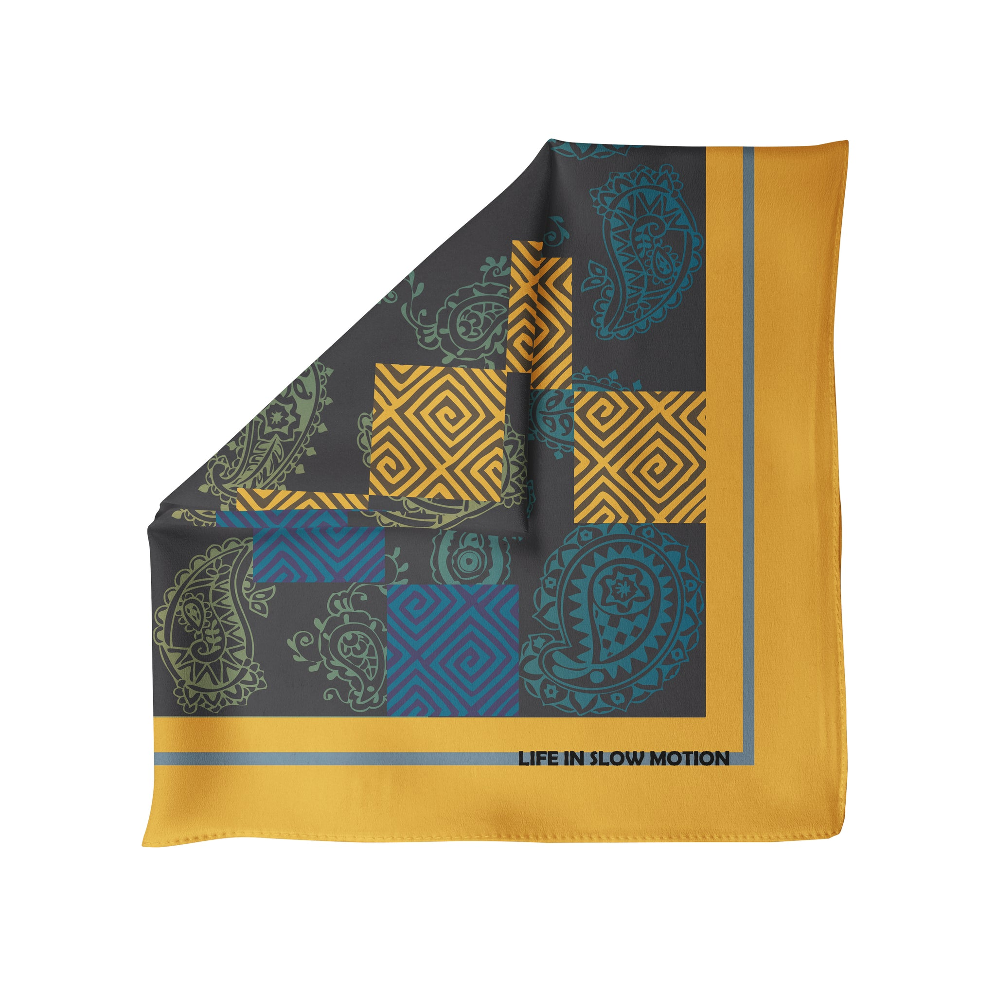 Atri - Silk Pocket Square