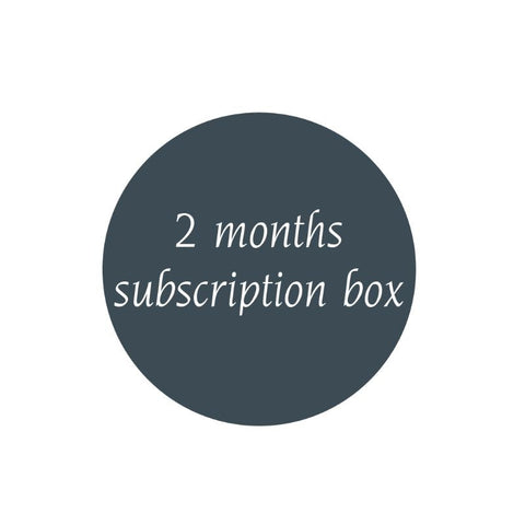 Subscription box - 2 months - Lifeinslowmotion