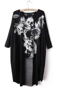 Vintage Dovetail Skull Dress