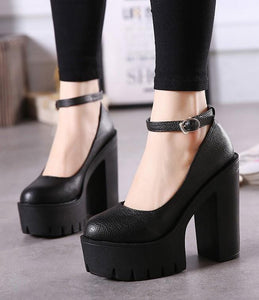 Casual Platform High-Heels
