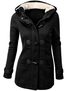 Alternative Style Hooded Coat
