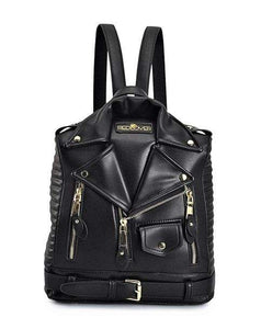 Ladies Leather Biker Bag