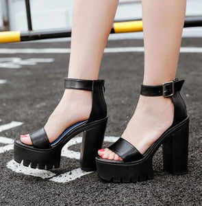 Casual Thick Heel Summer Sandals