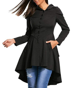 Evil Girl Hooded Overcoat
