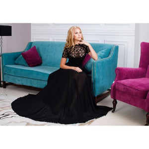 Gothic Evening Gown