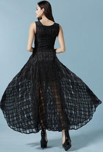 Elegant Summer Goth Dress