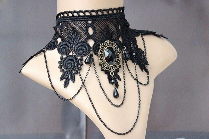 Limited Edition Vintage Gothic Choker Necklace