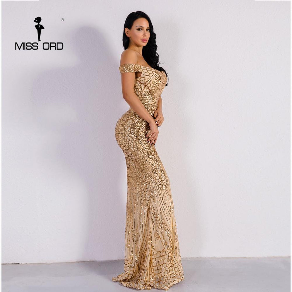 Missord Sequin Maxi Dress