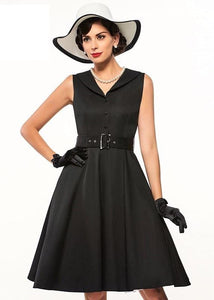 Elegant Retro 1950s Dress