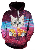 Cat Galaxy Unisex Hoodies